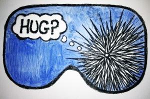 Hug? Blue